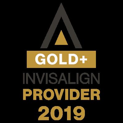 invisalign gold provider in 2019 logo