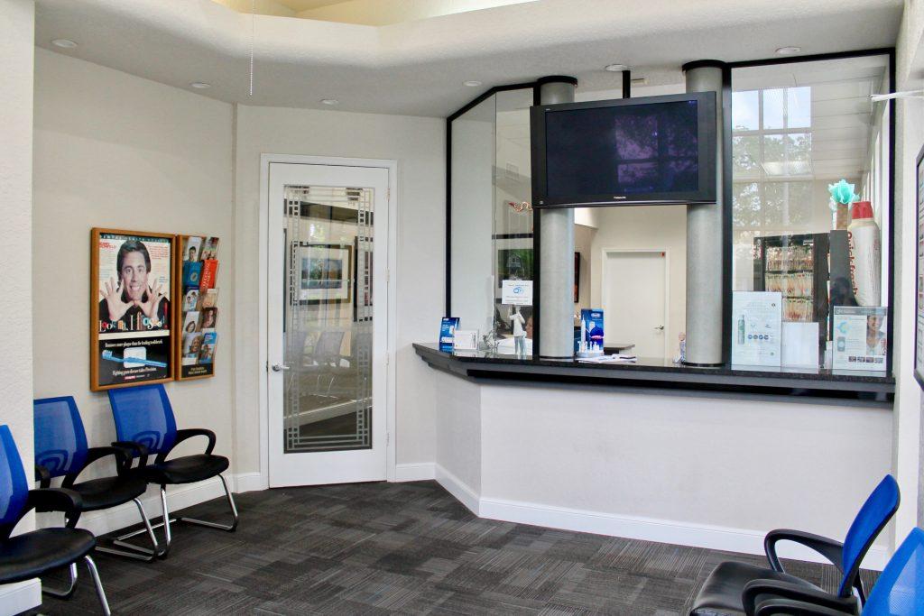 Eriks Dental Group Office waiting area