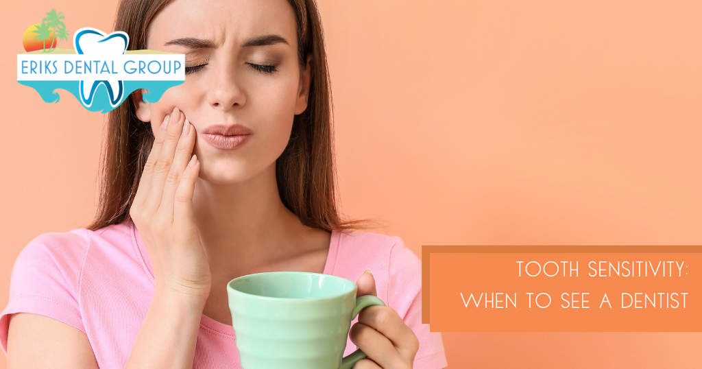 when to see a dentist about tooth sensitivity